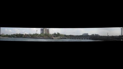 the site of Jakarta, beach point of view