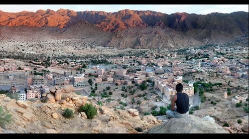 tafroute, marocco