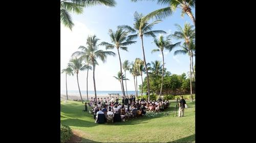 E & A's Wedding Ceremony at the Four Seasons Resort Hualalai in Hawaii