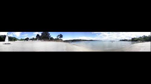 Port Manch Beach in Brttany France