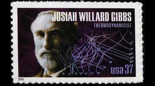 American Scientist - Josiah Williams Gibbs postage stamp
