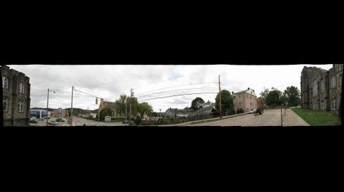 Gray Fall Day in Coraopolis