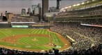 Minnesota Twins versus the New York Yankees in Game 2 of the ALDS