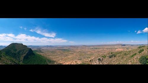 Vista desde la Sierra del Buey, Jumilla