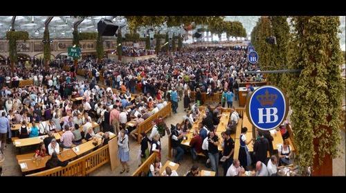 Hofbrau-Festzelt Oktoberfest Munich
