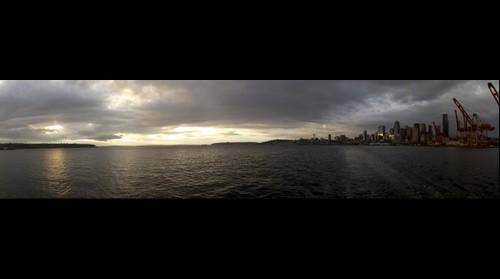 Seattle Sunset - 2010