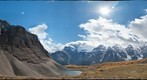 Between Larch Valley and Sentinel Pass - 360 degrees