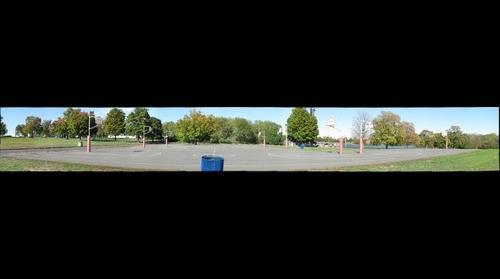 whereRU: Livingston Campus outdoor basketball court