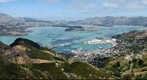 Lyttelton, view from Port Hills, New Zealand