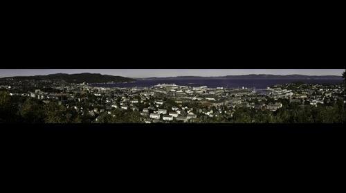 Trondheim Panorama (250MPix)