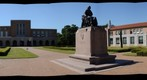 Frisbee in Flight - Rice University Academic Quad - a 360-Degree Panorama (Nikon D7000)