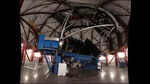Inside the Magellan Telescope (higher res)