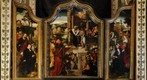 Triptych by Lucas van Leyden