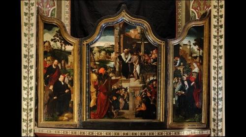 Triptych by Lucas van Leyden