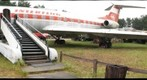 Profile of a Soviet TU 134, at Finowfurt, Germany during Chaos Communications Camp