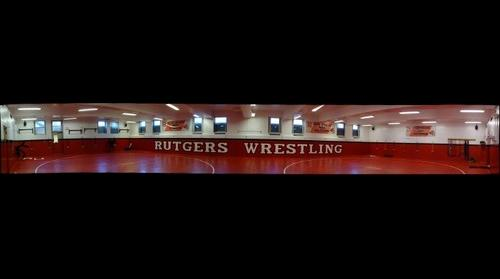 whereRU: Wrestling in College Ave Gym