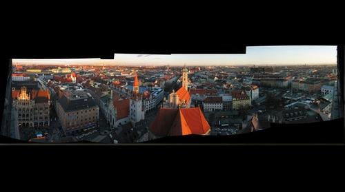Munich desde la Torre Peter