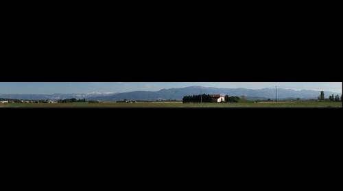 Panoramique sur le Vercors