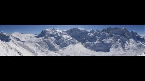 Monterosa Gletscher