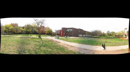 whereRU: Broken Statue on Busch Campus