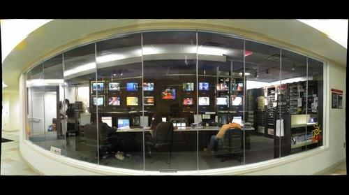 RU-tv Network Master Control Room