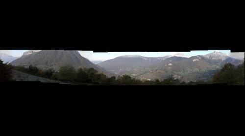 Panoramique de la frette
