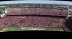 South Carolina vs. Tennessee, from Camera Deck
