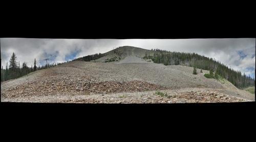 Inactive Rock Glacier (Big Sky, MT)