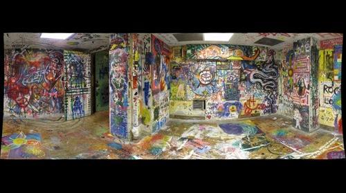 whereRU: Painted Walls in Demarest Hall