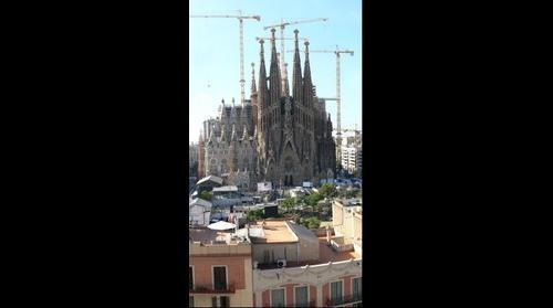Preparacion de la visita del papa a Barcelona