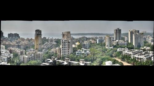 Yari Road (from the Terrace), Versova, Mumbai, India