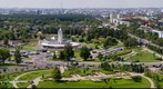 Panorama of Minsk city