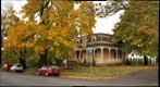 Charles Brown House with Fall Colors