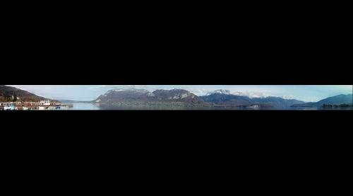 Les bord du lac d'Annecy (Vus de Sevrier)
