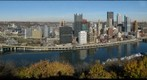 Pittsburgh, PA from Mount Washington (Left Eye)