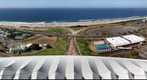 Durban beach from Moses Mabhida Stadium (east)