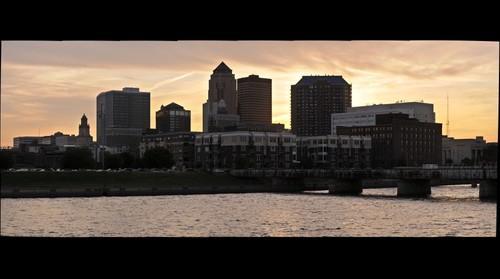 Downtown Des Moines Iowa