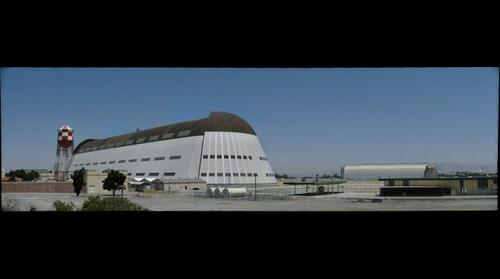 Hangar 1 at Moffett Field