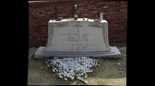 Golfer Bobby Jones Grave, Oakland Cemetary, Atlanta