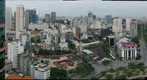 Ho Chi Minh City rooftop view