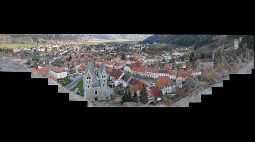 Friesach vom Petersberg