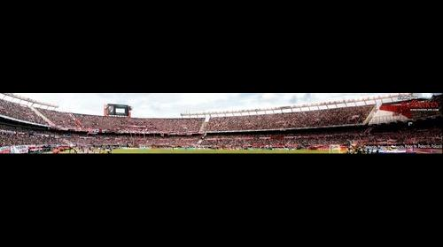 PanoramicTag - Superclasico River Plate vs Boca Juniors, Estadio Monumental, Buenos Aires, Argentina