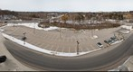 University Hospital, University of Western Ontario, Looking North from Roof of Parking Garage, London, Ontario, Canada: Mar 21, 2008