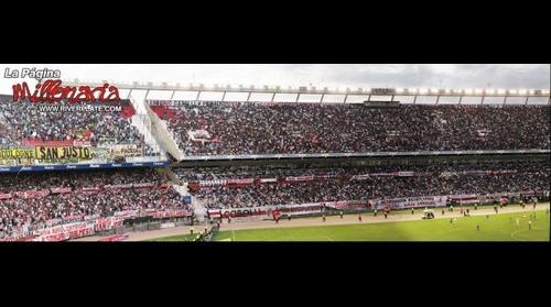 PanoramicTag - River Plate vs Boca Juniors - Platea Centenario y Belgrano - Estadio Monumental, Nunez, Buenos Aires