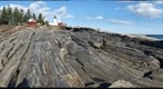 Geology of Pemaquid Point, Maine (west)