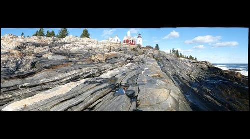 Geology of Pemaquid Point, Maine (east)