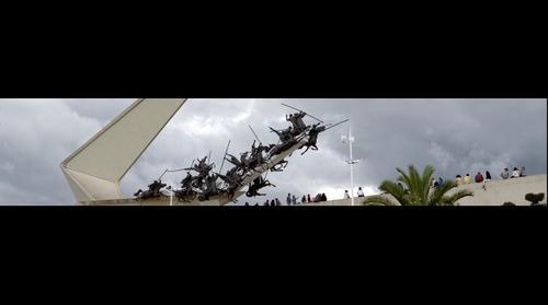 Monumento a los Lanceros del Pantano de Vargas, Boyacá, Colombia, Suramérica.