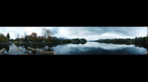 Lourdes lake 360  / Llac de Lourdes 360 / Lago de Lourdes 360