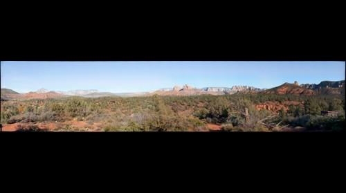 Sedona Red Rock State Park from House of Apache Fires