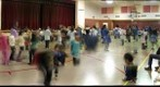 Free group dancing at the Elders and Youth Conference